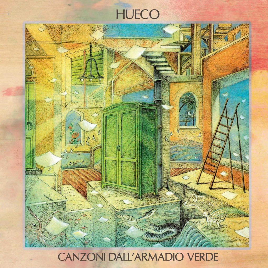 Hueco - canzoni dall'armadio verde - cd cover