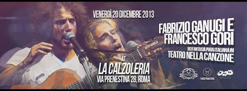 """Fabrizio Ganugi e Francesco Gori in versione """"Teatro nella Canzone"""""""