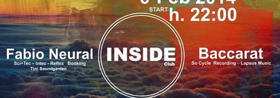 Musica: il DJ set di Fabio Neural e Baccarat sbarca alla consolle di Inside Club