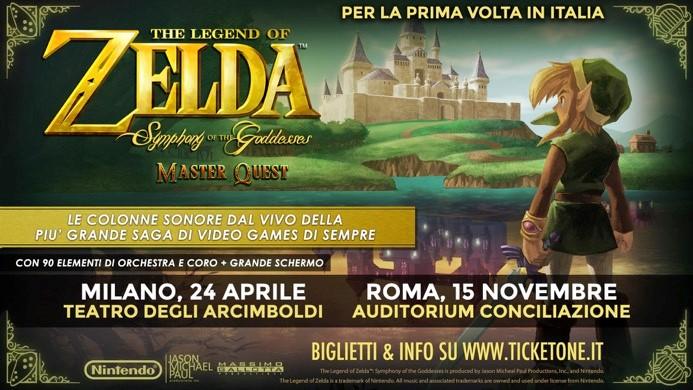 Zelda locandina