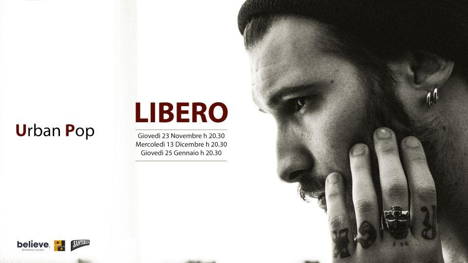 LIBERO è stato scelto dalla Santeria Paladini di Milano  come artista resident!