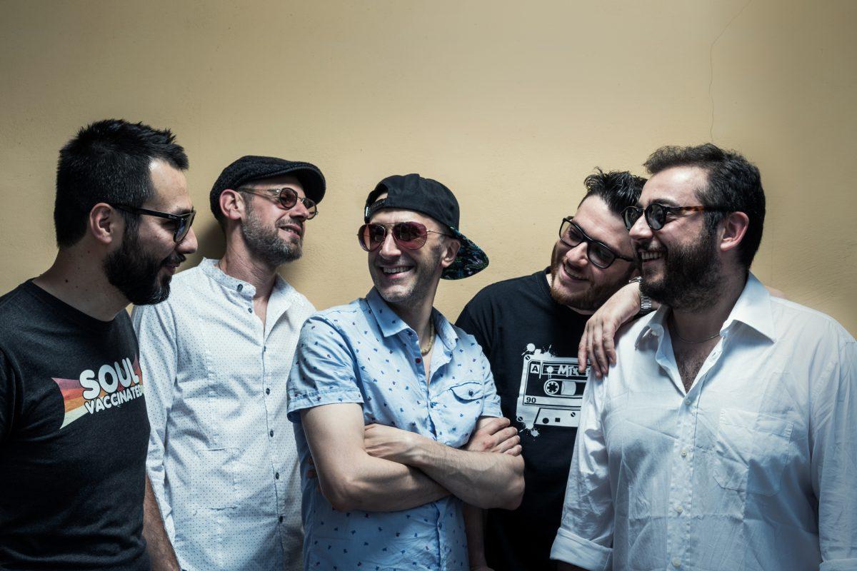 A Lavello il debutto in tour dei Blue Moka con Fabrizio Bosso come guest
