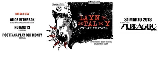 Il 31 marzo al Serraglio arriva il Benefit Show dedicato a Layne Staley, Chris Cornell e Kurt Cobain.