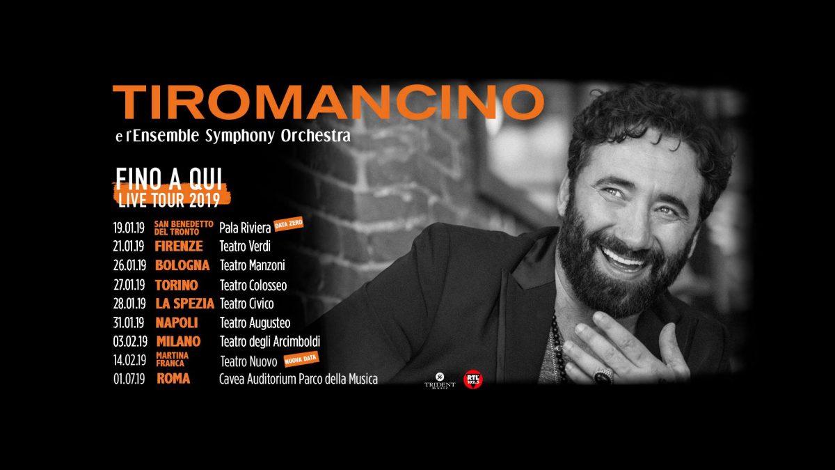 Tiromancino: Fino a Qui – In Tour, dal 21 Gennaio nei teatri