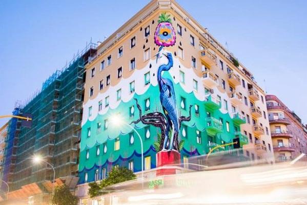 Per 'La Città Incantata 2019': Roma attraverso la Street Art. Alla scoperta di Ostiense District