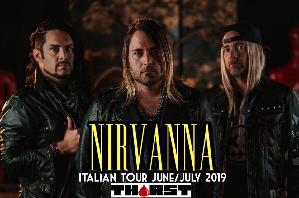 Da domani i NIRVANNA tornano in tour in Italia e presentano i THIRST