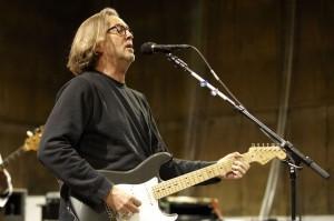 Eric Clapton - foto di Terry O'Neill