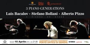 3 PIANO GENERATIONS