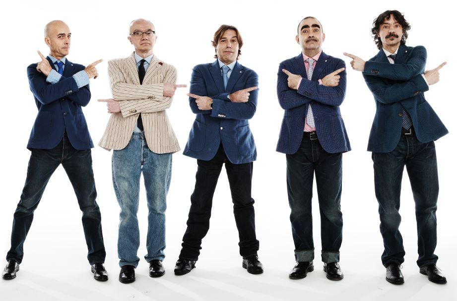 Elio e le Storie Tese in gara a Sanremo con il brano Arrivedorci
