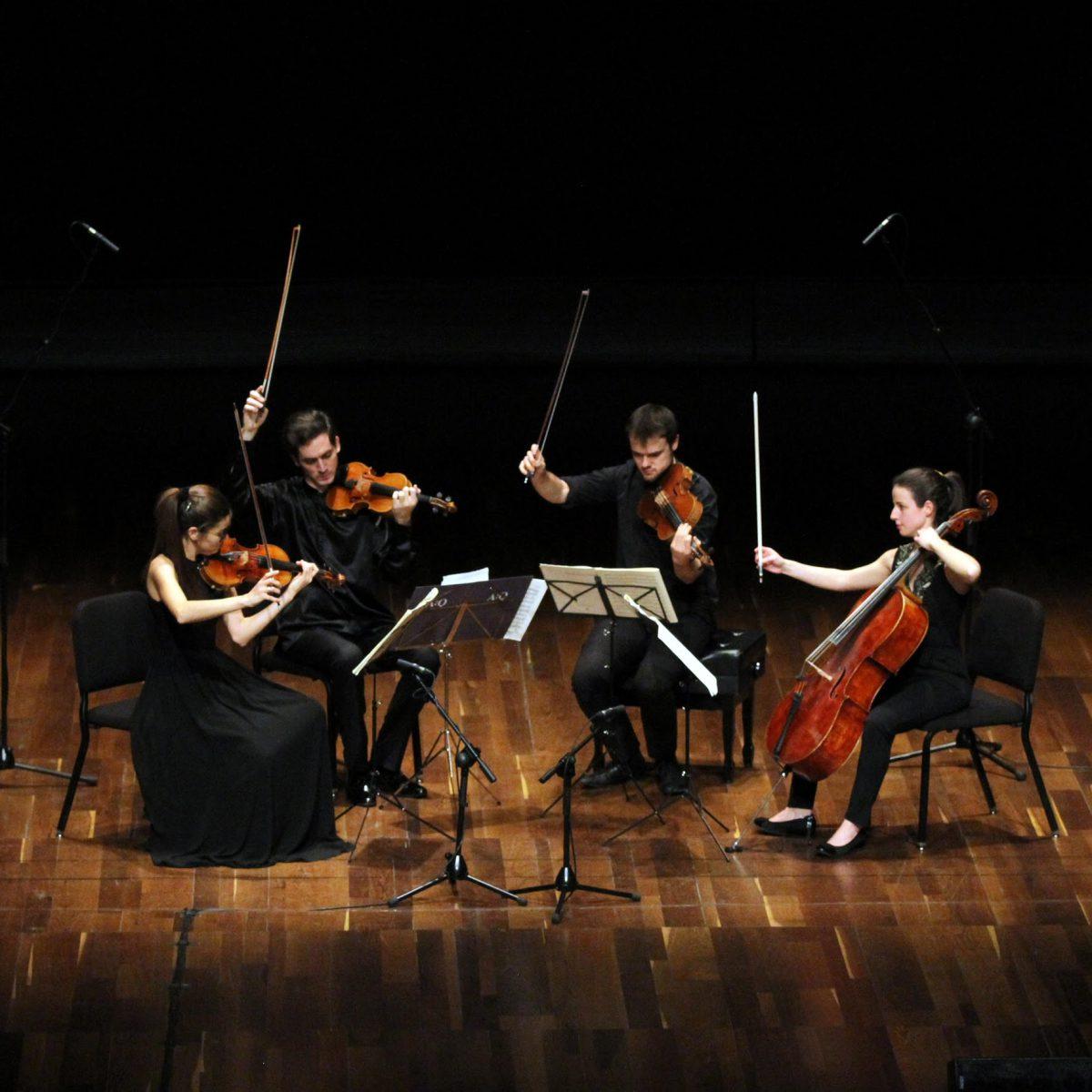 """""""Mozart in concerto e in quartetto""""   Marco Barbaresi e Alauda Quartet in concerto al Teatro Sala Umberto"""