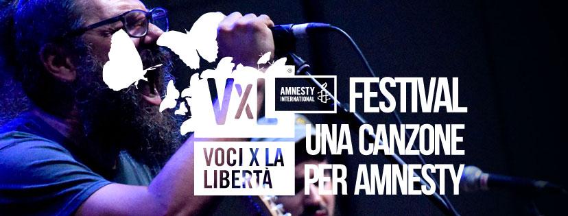 Voci per la Libertà: al via i Premi Amnesty 2019 per le migliori canzoni sui diritti umani