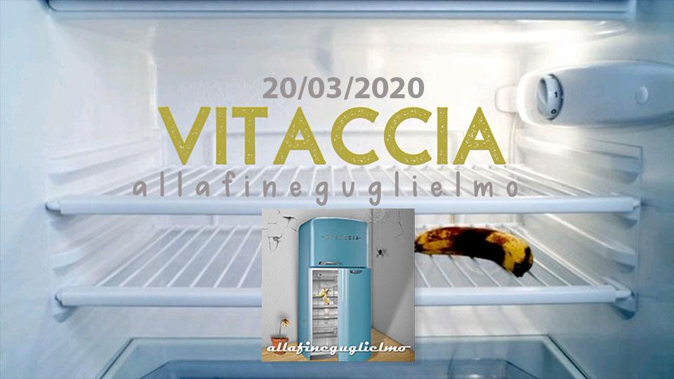 """Venerdì 20 marzo 2020 esce """"Vitaccia"""" il nuovo singolo di allafineguglielmo"""
