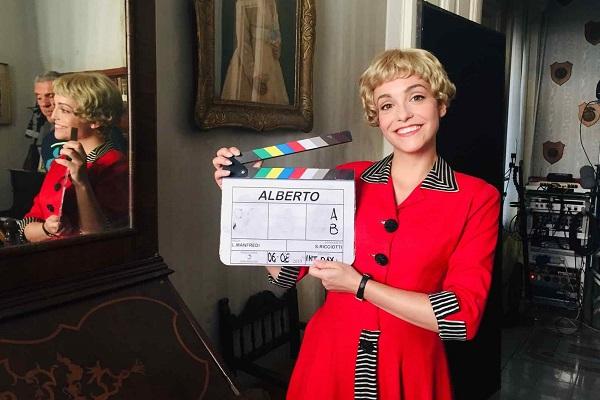 MARTINA GALLETTA nei panni di Giulietta Masina su RAI UNO
