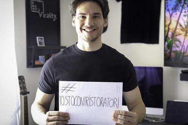 Virality: 80 influencer e 240 stories instagram per #iostoconiristoratori